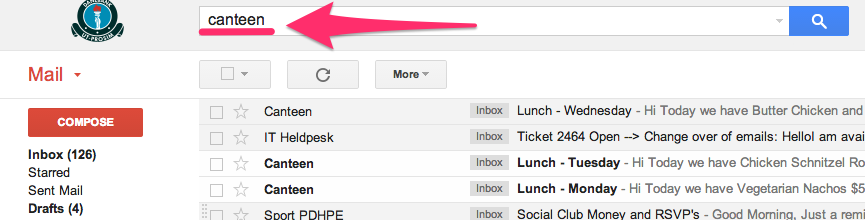 how to create label opera mail